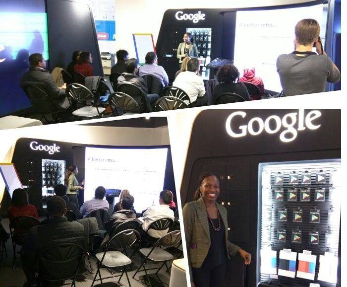 CV workshop session at Google